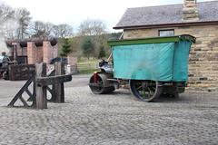 IMG_1566  Steam Roller, Beamish Open Air Museum (SomeBlokeTakingPhotos) Tags: england heritage history beamish nostalgia thepast touristattraction countydurham livingmuseum beamishmuseum