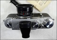 KMZ Zorki 2-S on Display (01) (Hans Kerensky) Tags: kmz zorki 2s 2c soviet rangefinder 35mm film jupiter12 f28 lens