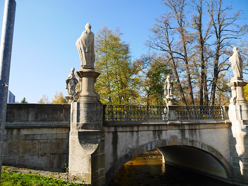 The Baroque stone bridge