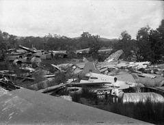 WWII Aircraft Graveyard New Guinea (paulledger81) Tags: aircraft lancaster bomber usaf liberator raaf raf b52 newguinea aircraftgraveyard