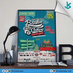 Discount Up 70 % Cuma ada di sini nih : @bantenindieclothing @bantenindieclothing @bantenindieclothing Pameran pakaian clothing & distro : *Community *Creative *Food Truck *Music *Sport *Culinary Year End Sale up 70% Date : 24-27 Des 2015 Stadion Maulana (kotaserang) Tags: music food money up sport truck ada clothing discount community sale year creative save des your di end date stadion  70 culinary maulana comingsoon nih sini cuma distro 2427 pameran 2015 lur serang pakaian saveyourmoney kotaserang instagram ifttt yusufcicerikota bantenindieclothing bantenindieclothing2015