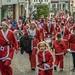 The 2015 Andover Santa Fun Run climbs the High Street