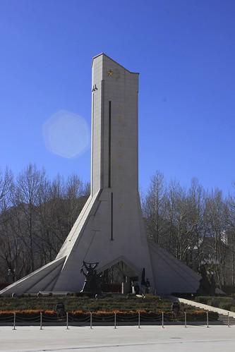 西藏和平解放纪念碑