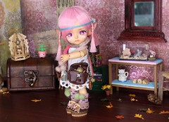 Folk's Heart #10 (Arthoniel) Tags: folk summoner lati latidoll latiyellow tan limited pharaohscurse doll bjd balljointeddoll collection diorama ooak laboratory roombox dollhouse rement callcifer howlsmovingcastle fire miniature tiny toy figure elf denaliwind custom faceup