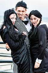 family pic (Lindeeto1287) Tags: asbury park zombie walk morticia gomez wednesday addams
