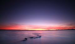 Atardecer en laguna salada (U.STROBE) Tags: canoneos6d cielo lagunasalada mar sea mediterraneo torrevieja espaa spain atardecer landscape paisaje sunset