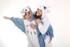 Animal Onesies 2 (graafm) Tags: animalcostumes animalonesies halloweencostumes onesiepajamas owl unicorn