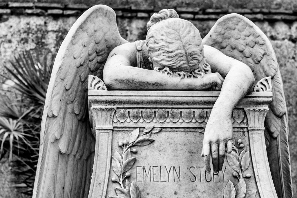 Angel Of Grief   Drama (plucciola) Tags: Roma Lazio Italia It Outdoor Statue