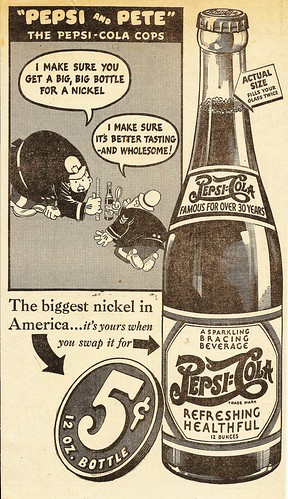 Pepsi and Pete, 1939