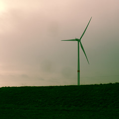Modern Windmill (Lux Obscura) Tags: aeolus green cereal energy wind turbines