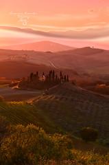 Sunrise in Belvedere / Tuscany (Losonczi Veronika) Tags: sunrise italy tuscana tuscany belvedere nikon nikon7000