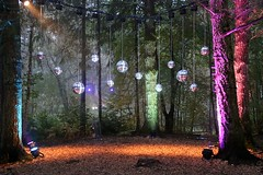 2016 - 14.10.16 Enchanted Forest - Pitlochry (18) (marie137) Tags: enchanted forest pitlochry mobrie137 scotland lights music people water reflection trees shows food fire drink pit patter shapes art abstract night sky tour family walk path bells smoke disco balls unusual whisperer bridge wood colour fun sculpture day amazing spectacular must see landscape faskally shimmer town