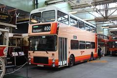 Preserved GMT 5208 (C208 FVU) (SelmerOrSelnec) Tags: preserved gmt gmbuses mcw metrobus northerncounties c208fvu manchester cheetham museumoftransport boylestreet bigorange bus