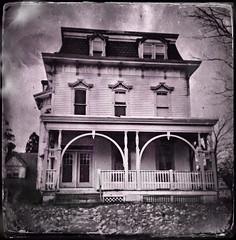Dark Past (drei88) Tags: secondempire victorian mansard bleak spooky dismal dreary history dread grim past landmark ravenna meridian hauntedhouse halloween