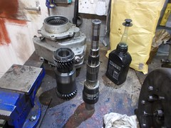 Mainshaft complete (37114) Tags: land rover fairey overdrive rebuild