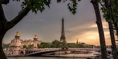 Pont Alexandre III (sigmanow) Tags: nikond750 toureiffel paris bridge city europe seine 50mm