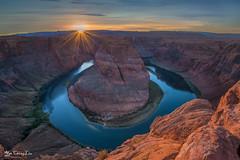 Horseshoe Bend sunset, Page, AZ (FollowingNature) Tags: horseshoebendsunset page horseshoebend sunset pageaz followingnature