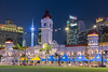 ABM (Another Blue Monday) / Merdeka square in Kuala Lumpur (Malaysia) (Frans.Sellies (off for a little while)) Tags: 27072016img2373 kualalumpur malaysia
