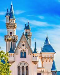 Sleeping Beauty Castle (silvanosanchez98) Tags: hdr photographer nikond5100 nikon california cinderellacastle sleepingbeautycastle disney disneyland