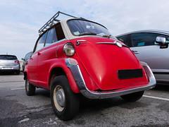 BMW 600 (1957-1959) (Thethe35400) Tags: auto car cotxe coche automobile voiture carro bíll bil samochód rouge mini red rojo vermelho rosso rot carr