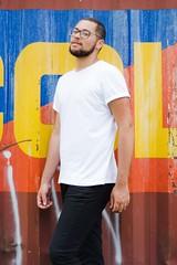_CLE9110-Editar (Cleison Silva) Tags: boy modelo barba oculos indie azul sopaulo barueri urbano art retrato