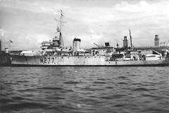 HMS Orestes (M277) (goweravig) Tags: hmsorestes minesweeper m277 royalnavy ship shipping devonportdockyard devonport plymouth england uk