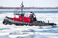 Ice Breaker (cjb_photography) Tags: boat tugboat harbour toronto torontophoto torontolife torontoclicks lakeontario lake cherry street