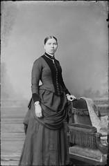 24-4 Woman (gordon_morales) Tags: glass plate negative dress woman lady portrait