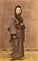 Merchant's daughter ca1870 (SSAVE w/ over 6.5 MILLION views THX) Tags: japan japanese customs costumes culture 1870