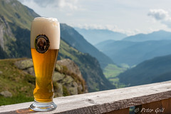 Break on the Klammalm (pego28) Tags: sdtirol italien italy southtyrol holiday vacation urlaub 2016 nikon nikkor d800 ratschings berge alpen hill mountain alps wandern hike tramp mountainracines grn green wolken clouds sky himmel blue blau klammalm bier weizen beer landscape landschaft