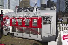 CP Mini Train (Stephen Gardiner) Tags: toronto ontario 2016 greycup greycupfestival cfl canadianfootballleague torontorailwaymuseum roundhousepark pentax k3ii 1645