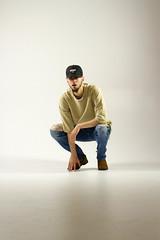 IMG_0928 (sabrinafvholder) Tags: man male hat hipster studio portrait young givenchy sabrinavazholder