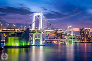 White Brights in Twilight, Tokyo Rainbow Bridge