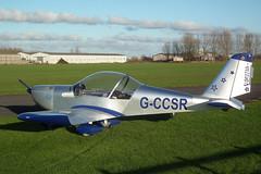 G-CCSR Evektor EV-97A Eurostar (Goolio60) Tags: aircraft flying aviation breighton homebuilt evektor ev97 eurostar