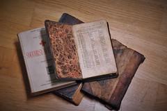 open on history (Kiara Clarecita) Tags: chiara tamburini clarecita kiara 2016 books libri livres libro livre book old vecchio vieux ancien marronn marrone brown pages pagine
