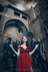 SUDDENLASH (Nat Mora Domingo -Enmede-) Tags: suddenlash metal symphonicmetal band lidiaguglieri singer reddress voice barcelona tarja tarjaturunen natenemede promo album