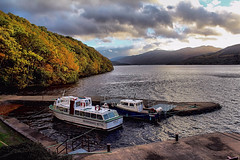 small harbour (Duncan the road rebel) Tags: boat landscape lochlomond loch lomond harbour water watertransport waterside landscapesofscotland scottishlandscape scotlandslandscape scotland scottish trossachsnationalpark inversnaid hotel nationalpark trossachs thetrossachs smallharbour
