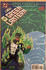 Green Lantern #64 - Underworld (sheriffdan10) Tags: greenlantern underworldunleashed underworld dc dccomics comicbooks superhero superheroine cover covers magazine sciencefiction