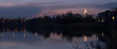 Bridge of light (piotrpicheta) Tags: bagry cracow kraków zalew jezioro zbiornik natura przyroda jesień
