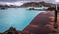 The Blue Lagoon (The Aperture Geek) Tags: bluelagoon iceland icelandic reykjavic water blue aqua wonder warm spring geothermal bathing swiming adventure travel canon 70d sigma 1770 hotspring relaxing floating psorisis skinconditions thermal thermalsprings lava rocks mountains people sky clouds