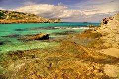 Cala Torta Beach, North-East Mallorca (Janusz W.) Tags: mallorca sea beach landscape water sky pentax majorque majorka
