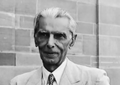 A close up of Mr. Jinnah at the viceregal lodge (Doc Kazi) Tags: pakistan india independence negotiations ceremonies jinnah gandhi nehru mountbatten viceroy wavell stafford cripps edwina fatima muhammad ali