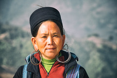 Hmong Lady (Michael S Liu) Tags: culture hmong face vendor tribe people southeastasia vietnam sapa travel