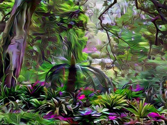 dreAm-forest (artyfishal44) Tags: dreamforest digital2016 surreal artyfishal44 jim photoshop digital art abstract awardtree hypothetical illusion perception dreamteacher youniverse colourtheory newreality mindtraveller nature choice change downunder catdoorman wideawakedreamer dangertoshipping gravitydefying sydney botanicalgardens cleide painterlyexperimental