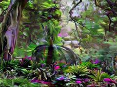 dreAm-forest (artyfishal44) Tags: dreamforest digital2016 surreal artyfishal44 jim photoshop digital art abstract awardtree hypothetical illusion perception dreamteacher youniverse colourtheory newreality mindtraveller nature choice change downunder catdoorman wideawakedreamer dangertoshipping gravitydefying sydney botanicalgardens cleide painterlyexperimental