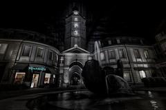 Kochlffel of Darkness (M-Z-Photo) Tags: nachtaufnahme darkart ansbach herrieder tor photoshopped bildbearbeitung