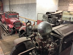 On the property of the Fire Museum of Greater Chicago . (Chicago Rail Head) Tags: cfd fireapparatus firetrucks fireengines fire firemuseumofgreaterchicago ontheproperty restorations classicfirerigs