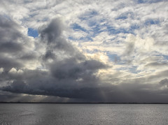 Taken on Wednesday afternoon, 23rd November 2016. (Mouse535) Tags: hull paull holmes strays nature reserve humber holderness estuary clouds sky