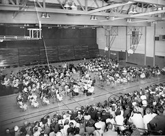 P-70-Y-028 (neenahhistoricalsociety) Tags: orchestras bands music gyms shattuck jorgenson concerts schools