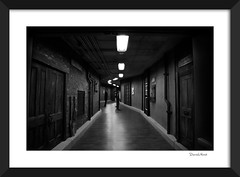 Outsitde Inside (david.horst.7) Tags: bw blackandwhite monochrome framed frame street